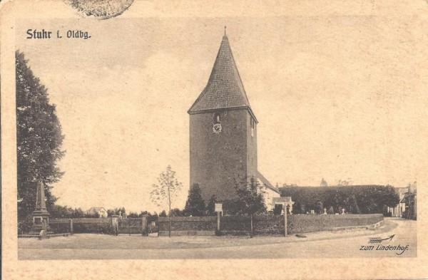 Alte Postkartenansicht von 1918