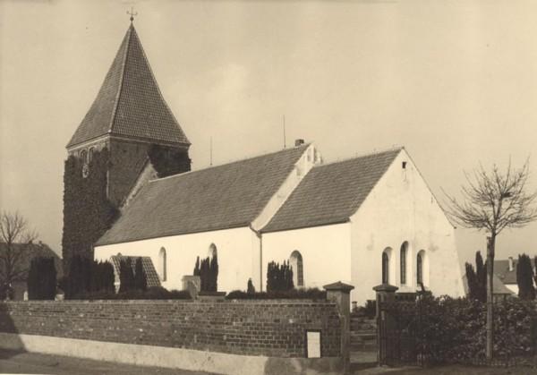 Die Stuhrer Kirche 1955