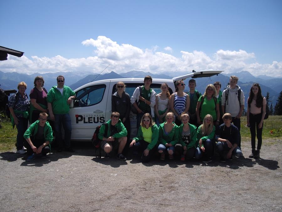 Die Teamer der Konfirmandenfahrt 2015