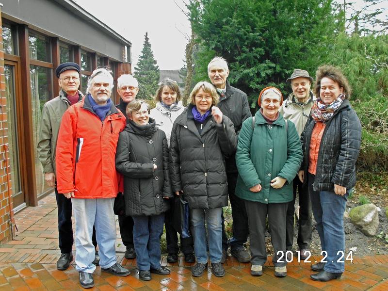 Unser Besuchsdienstteam zur 825 Jahrfeier der Kirche.