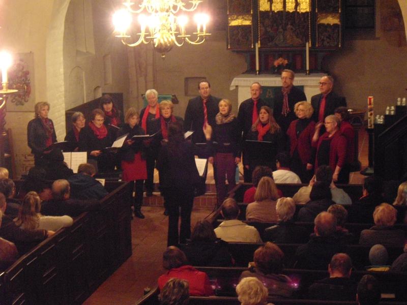 Der Gospelchr bei seinem Konzert 2015