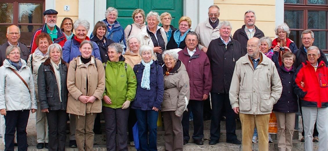 Die Gruppe in Weimar 2012