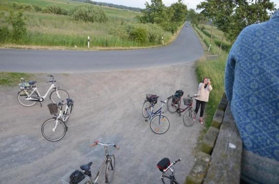 Eva, Maria & Co. auf Feierabend Radtour