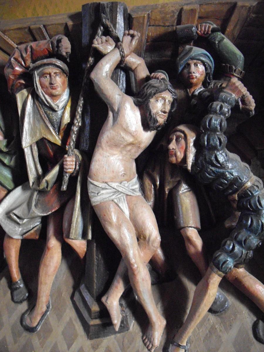 Ausschnitt des Stuhrer Altars