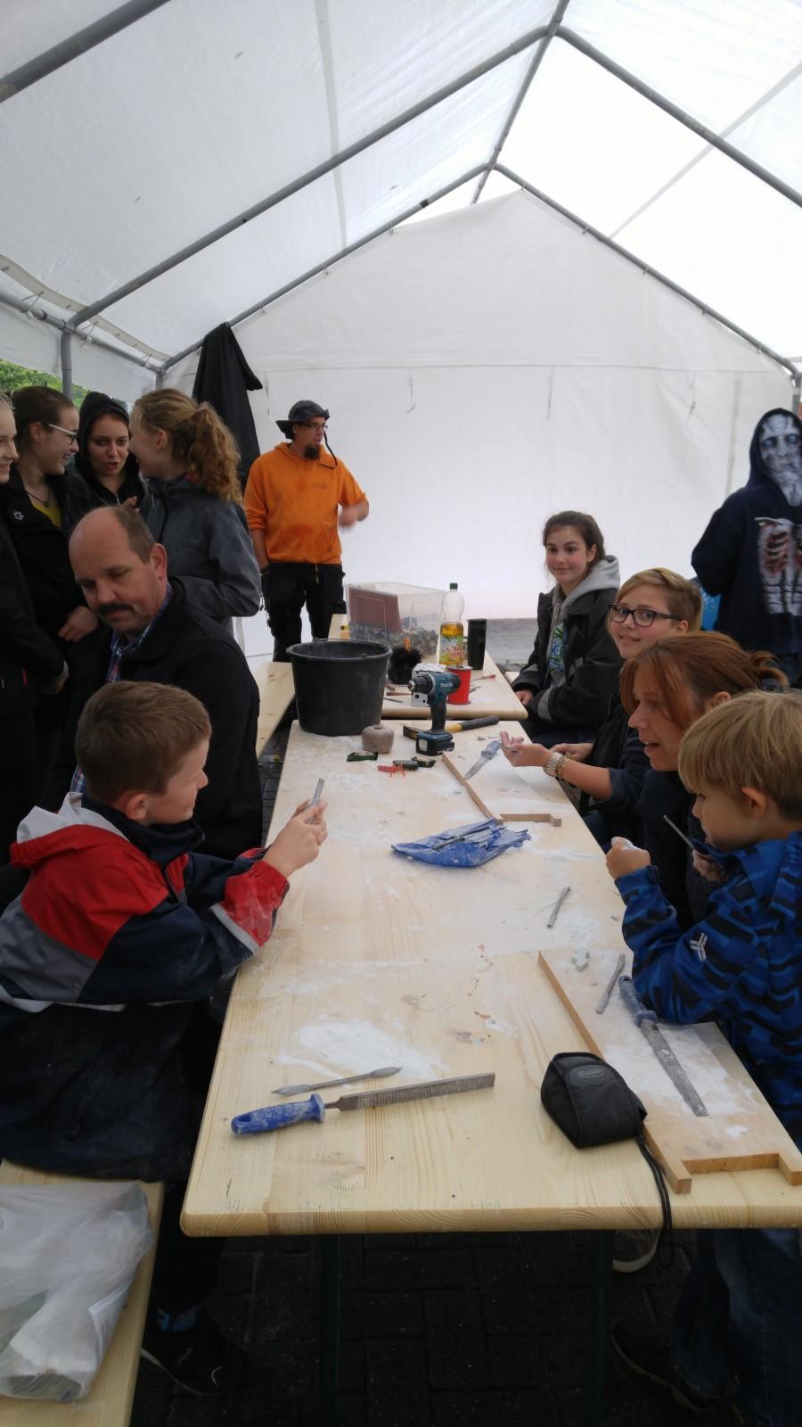 Die Evangelsiche Jugend der Wesermarsch und das Specksteinangebot