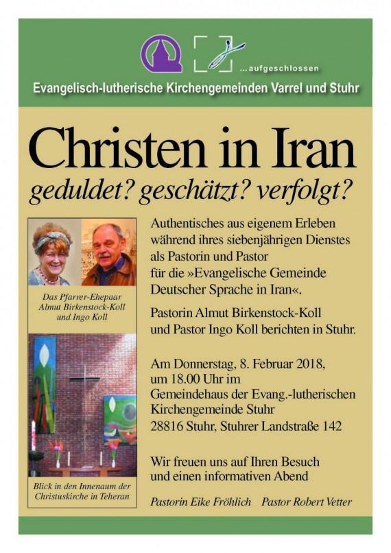 Christen im Iran – geduldet? geschätzt? verfolgt?