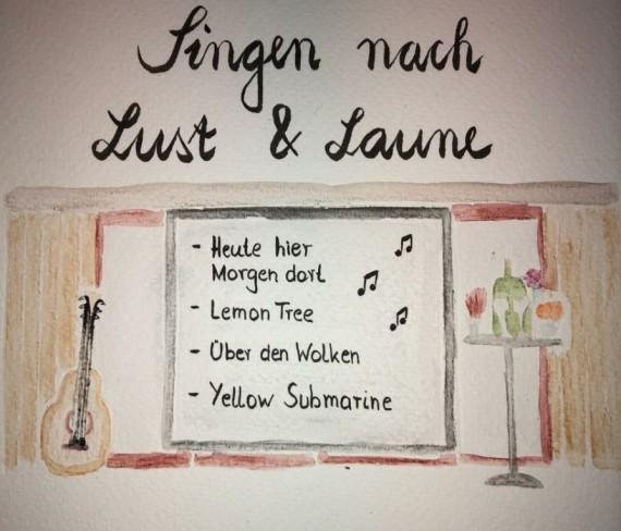 Singen nach Lust & Laune