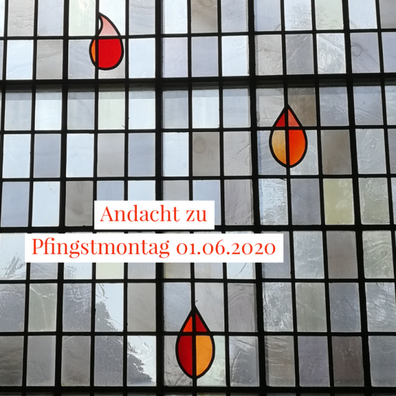Podcast-Andacht zum Pfingstmontag