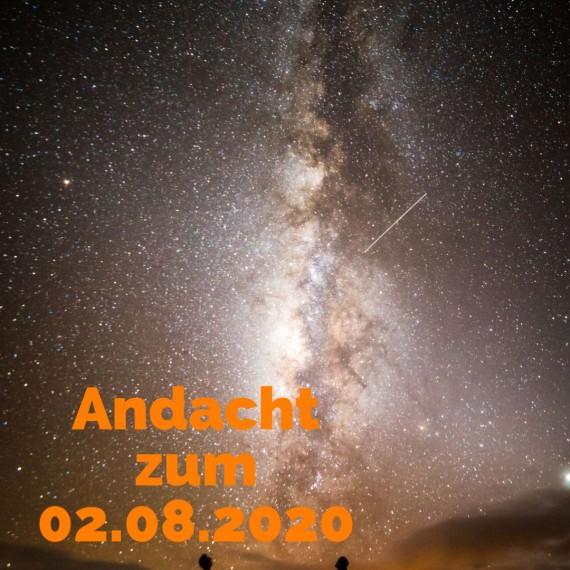 Podcast-Andacht zum 2. August