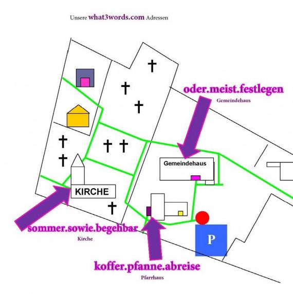"""Neue """"Adressen"""" der Kirchengemeinden"""