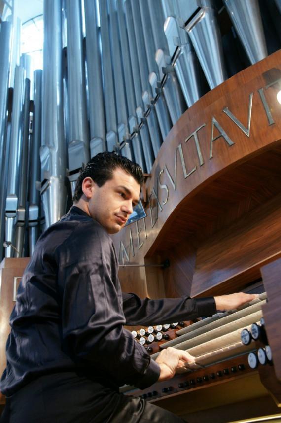 9. September Orgelkonzert Paolo Oreni um 19 Uhr